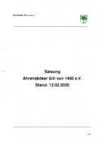 JHV 2020_Anlage II_Entwurf Neufassung der Satzung_2020