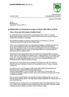 JHV 2020 Begleitschreiben zur Neufassung der Satzung
