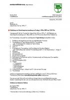 JHV 2020 Einladung